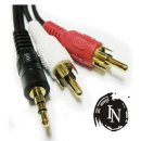 I 3.5ST 2RCA M M 1.5M AV 변환케이블 오디오케이블