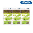 보온라텍스/코멕스 면코팅 고무장갑(그린L대 x 3P)