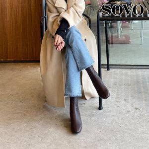 미들힐 삭스 여성앵클부츠 (5cm)