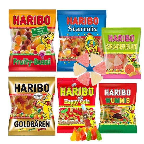하리보 젤리 6종 100g 선택