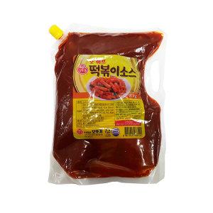 상온) 오쉐프 떡볶이소스 스파우트팩 2kg