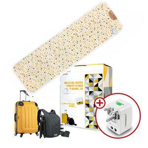 포켓배드 3세대 미니 여행용 전기매트 휴대용 온열매트