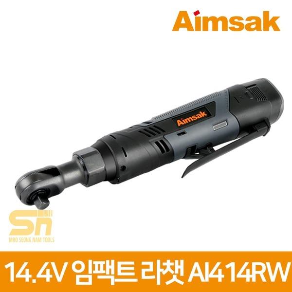 아임삭 14.4V 충전 임팩라쳇 AI414RW 2.0Ah 배터리2개