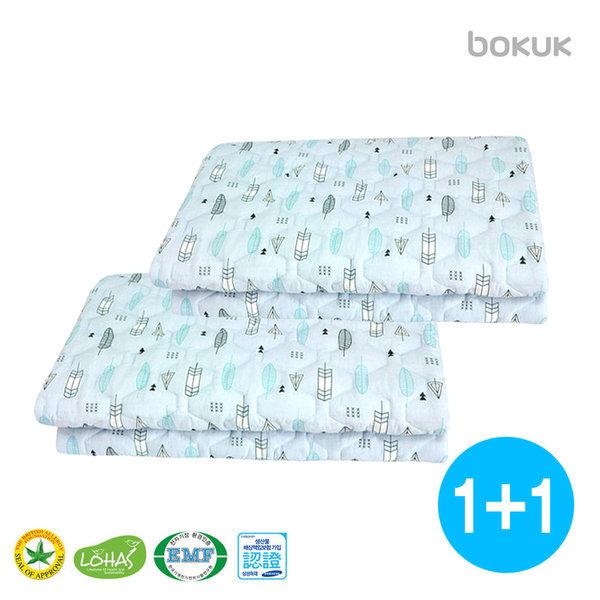 1+1 세탁기세탁 전기요 BKB-7504D 더블 전자파차단