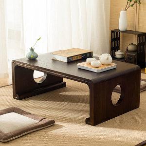 일식 차 탁자 보조 티 테이블목재가구 D타입80X50X30