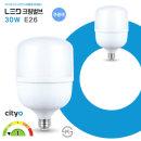 LED 전구 크림벌브 30W 26baes 주광색(하얀빛)