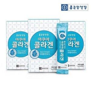 종근당건강아쿠아콜라겐30포3박스