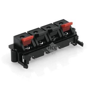 C2707 스피커 제작 단자 4P 젠더 커넥터 잭 짹 플러그