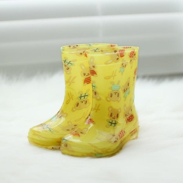 더원스토리 아동장화 레인부츠 유아 어린이 옐로곰돌이