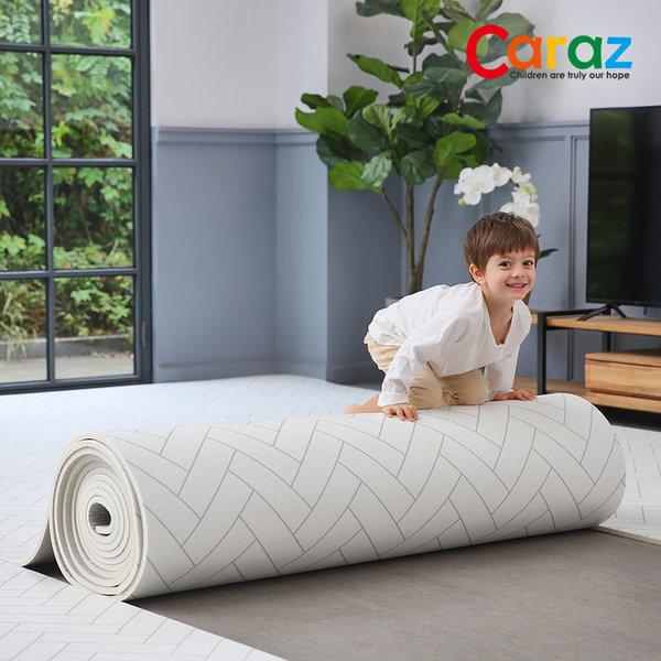 돌돌이 PVC 롤매트 110x300x1.4cm 헤링본 놀이방매트