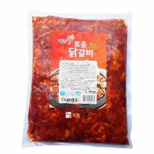 덕성푸드/토종닭갈비(냉동) 1kg