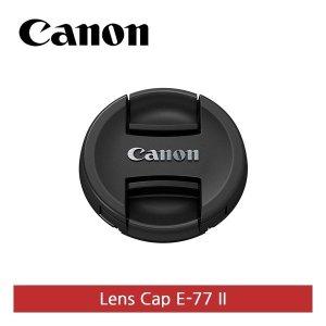 캐논   정품  E-77II 렌즈 앞캡 77mm