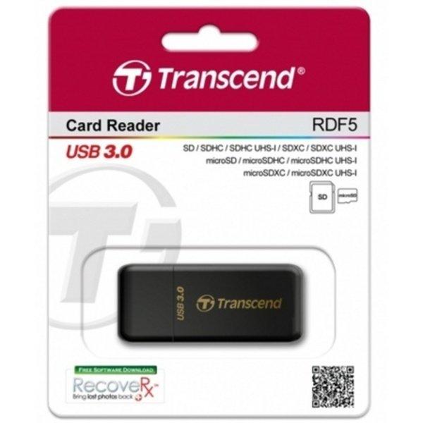 (GC) 트랜샌드 RDF5 USB 3.0 블랙 카드리더기 (외장형