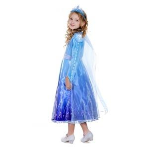 겨울왕국2 엘사 프리미엄 코스튬 아동 어린이 드레스