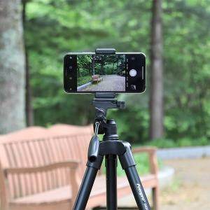 카메라 스마트폰 삼각대 블랙