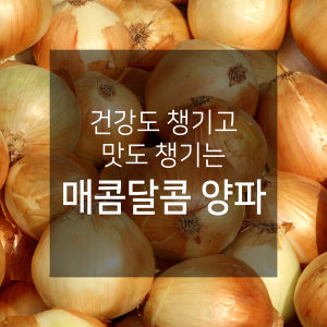 건강도 챙기고 맛도 챙기는~ 매콤달콤 양파 (대 10kg)