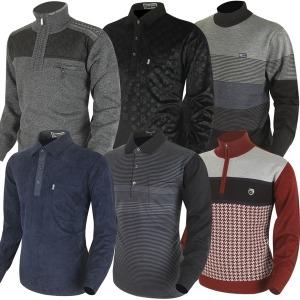 겨울 기모 골프티셔츠 카라티 남자 골프웨어 선물