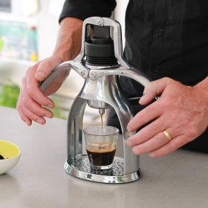 ROK GC 실버 에스프레소 커피머신