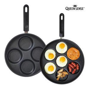 퀸센스 롤리 4구 에그팬 윤식당 계란 후라이팬