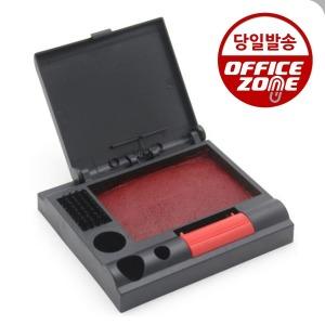 매표 특수 원터치 인주 No.50 빨강색 인주밥 도장인주