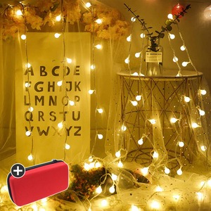 S50 LED 앵두전구 벽트리 크리스마스 캠핑 전구 조명