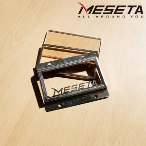 (MESETA) 메세타 화목난로 미니(110x60) 내열유리 브라켓세트