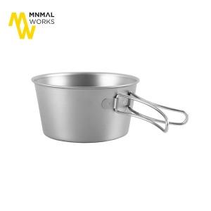 미니멀웍스 티타늄 폴딩 시에라컵 250/접이식컵