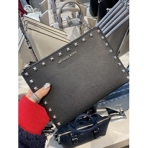 젯셋 클러치 jet set travel xl leather zip clutch