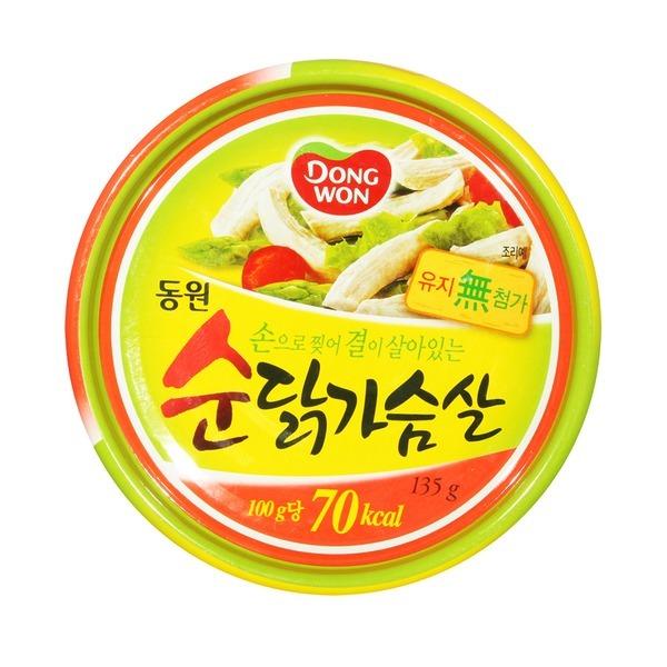 동원 닭가슴살 135g x 36캔(1박스) /닭가슴살통조림