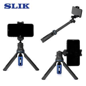 SLIK 3x4 Multipod 미니삼각대 셀카봉 액션캠 카메라