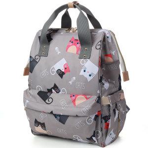에이비티 캐릭터 Cat4 기저귀가방 (그레이)