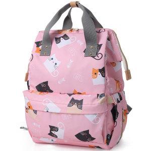 에이비티 캐릭터 Cat4 기저귀가방 (핑크)