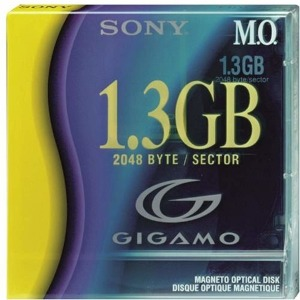 Sony 3.5  Magneto Optical Media 1.3GB