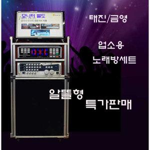 태진금영 노래방기계 노래방세트 이동식노래방세트