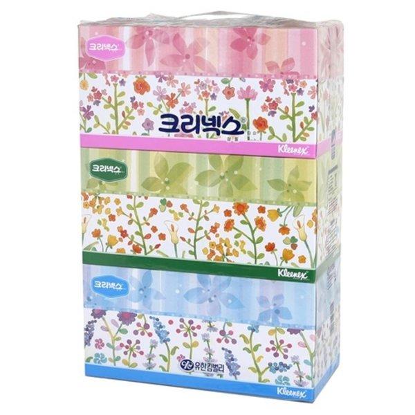 크리넥스)사각티슈(250콤비 250매x3개) 각화장지 화장