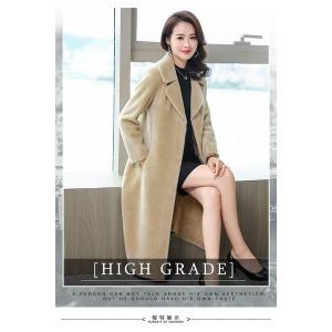 여자모피 G58패션 패션 도면지 코트 보통길이