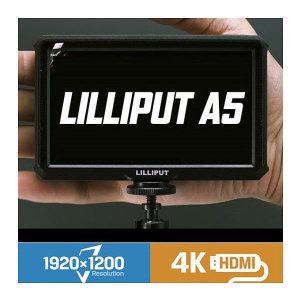 LILLIPUT 릴리풋 A5 5인치 4K 프리뷰모니터/테이크