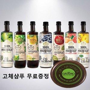 CJ쁘띠첼 미초900ml/홍초/흑초/파인애플식초/음료
