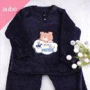 브라운베어 남아동 여아동 공용 밍크잠옷 아동수면잠옷