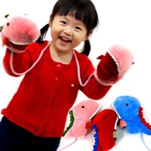 공룡인형 아동장갑/어린이 크리스마스선물/벙어리장갑