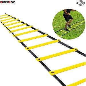 머슬칸 6m 스피드 스텝레더 훈련용사다리 축구 달리기