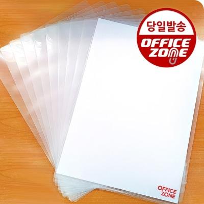 [오피스존] 오피스존 클리어홀더 투명 A4 10매 화일 간지화일 L자