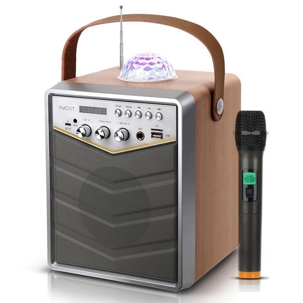 NEXT-BT30AMP 블루투스 노래방 스피커 앰프 마이크