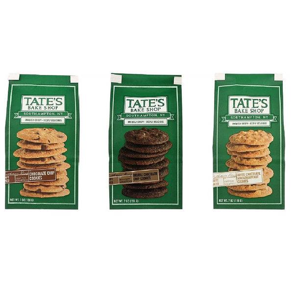 테이츠 베이크 샵 3가지맛 쿠키 모음 7oz(198g) 3팩