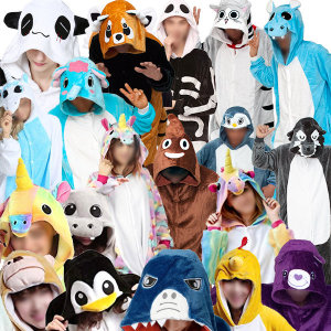동물잠옷/캐릭터/사계절/수면잠옷/동물옷/펭귄/토끼