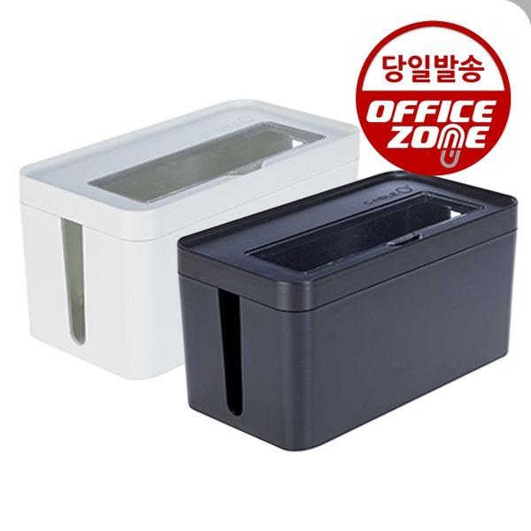 케이블 O 플러스 소 68013 아이보리 멀티탭 정리함