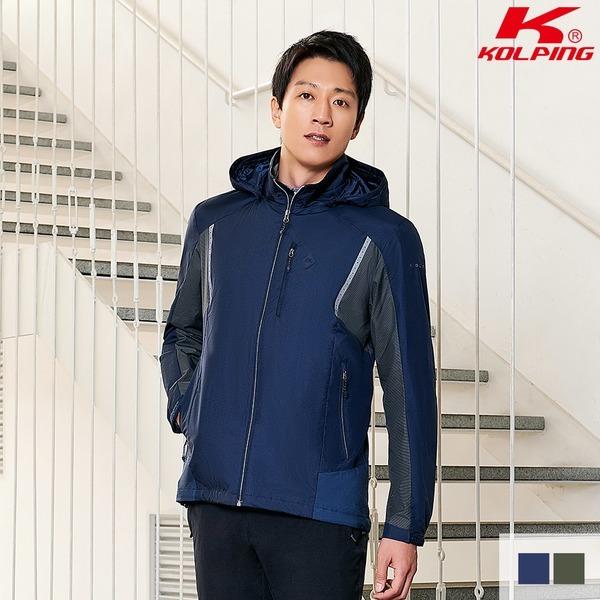 콜핑 남성 봄 바람막이자켓 강토크-J(남) KQJ6220M