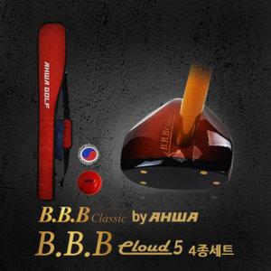 파크골프채세트/BBB 클라우드5 4종/공+마커+가방