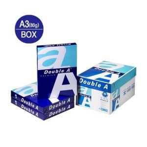 복사용지A380g/더블에이/500매X5권/박스