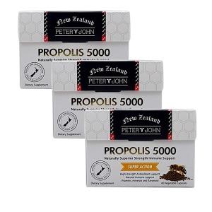 피터앤존 뉴질랜드 프로폴리스 5000 60캡슐 3개